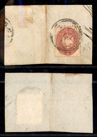 Antichi Stati Italiani - Lombardo Veneto - Villafranca (P.ti 3) - 5 Soldi (43) - Diena - Timbres
