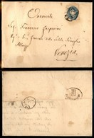 Antichi Stati Italiani - Lombardo Veneto - 10 Soldi (44) Su Lettera Da Treviso A Venezia Del 4.7.65 - Timbres