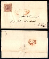 Antichi Stati Italiani - Napoli - 2 Grana (5) Su Lettera Da Nicastro A Napoli Del 29.12.58 - Timbres