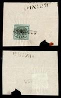 Antichi Stati Italiani - Stato Pontificio - Datario Di Urbino (P.ti 4) - 1 Bai (2) Angolo Di Foglio E Grandi Margini Su  - Timbres