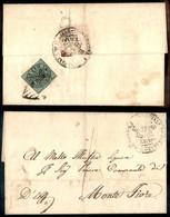 Antichi Stati Italiani - Stato Pontificio - 1 Bai (2) Al Retro Di Lettera Da Fermo A M. Fiore Del 24.5.54 - Stamps