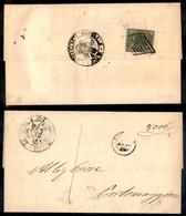 Antichi Stati Italiani - Stato Pontificio - 1 Bai (2) Al Retro Di Lettera Da Ferrara A Portomaggiore - Stamps