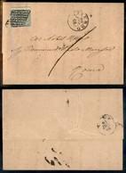 Antichi Stati Italiani - Stato Pontificio - 2 Bai (3Ab) Con Interspazio In Alto - Lettera Da Viterbo A Roma Del 20.12.66 - Stamps