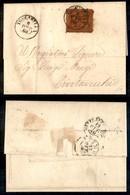 Antichi Stati Italiani - Stato Pontificio - Toscanella (P.ti 3) - 10 Cent (26) Su Lettera Per Civitavecchia Del 11.10.68 - Timbres