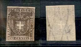Antichi Stati Italiani - Toscana - 1860 - 10 Cent (19) - Preciso A Sinistra (120) - Non Classés