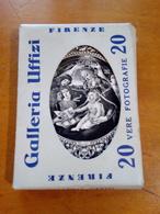 FIRENZE Galleria Uffizi 20 Vere Fotografie Edizioni Innocenti Minicartoline Mignon - Firenze