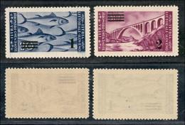 Occupazioni II Guerra Mondiale - Occupazione Jugoslava - Istria E Litorale Sloveno - 1946 - Soprastampati (61/62) - Seri - Stamps