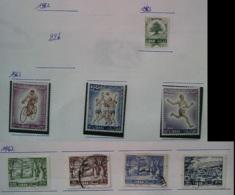 NB - [701915]B/TB//MIX/MIX-Liban 1962 - N° 206, Petit Lot Sur Feuille, Sujet Divers, Jeux Sportifs Méditarnéen, Forêt - Libanon