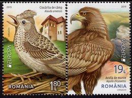 Romania - 2019 - Europa CEPT - National Birds - Mint Stamp Set - 1948-.... Republiken