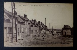 """CPA - Reims (51) - """"Le Foyer Rémois"""", Habitations Modernes Construites Pour Familles Nombreuses - Reims"""