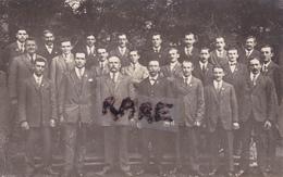 CARTE PHOTO,69,RHONE,MONSOLS,CONSCRITS,1942,RARE - France