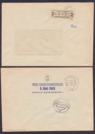 DDR ZKD B31IIL Freital VEB Edelstahlwerk 8. Mai 1945 Billetstreifen, 12.5.60 - Service