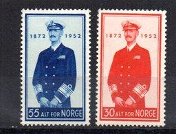 Serie Nº 342/3 Noruega - Noruega