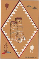 Apache Indians , Childrin's Buckskin Boots , 1958 - Indiens De L'Amerique Du Nord