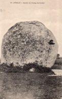 Avrillé : Menhir Du Champ Du Rocher - France