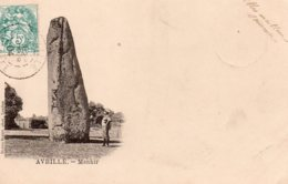 Avrillé : Menhir - France