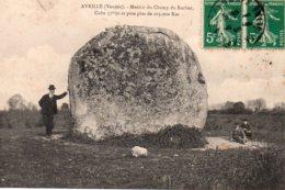 Avrillé : Le Menhir Du Champ Du Rocher - Autres Communes