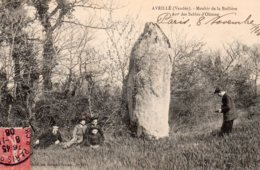 Avrillé : Menhir De La Boilière - Frankrijk