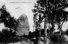 Avrillé : Menhir De La Pierre - Frankrijk