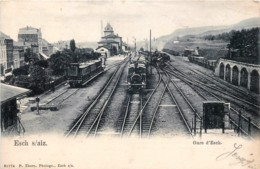 Luxembourg - Esch-sur-Alzette - Intérieur De La Gare D' Esch - Esch-Alzette