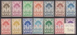 Madagascar- N° 265 à 278 Charnière (Hinged) (quelques Rousseurs) - Cote 7,25 Euros - Prix De Départ 2 Euros - Madagascar (1889-1960)