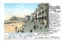 Ostende - La Digue De Mer Et Le Kursaal / 1902 / L.H.I.M. N° 945 - Oostende