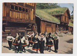 AI78 Norsk Folkemuseum, Oslo - Folk Dancing - Norway