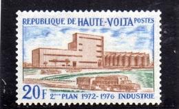 ALTO VOLTA HAUTE VOLTA UPPER VOLTA BURKINA FASO 1972 FACTORY PLAN INDUSTRIE 20fr  MNH - Alto Volta (1958-1984)