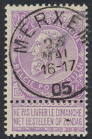 "Fine Barbe - N°67 Obl Simple Cercle ""Merxem"". Superbe - 1893-1900 Fine Barbe"