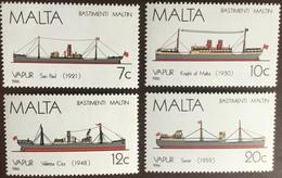 Malta 1986 Ships MNH - Malte