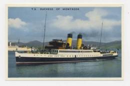 AI80 Scottish Ferry - T.S. Duchess Of Montrose - Ferries