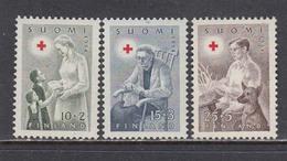 Finland 1954 - Red Cross, Mi-Nr. 422/24, MNH** - Finland