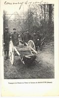 CARTE POSTALE Ancienne  De MARBOTTE - Transport De Blèssès Au Poste De Secours - France