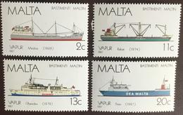 Malta 1987 Ships MNH - Malte