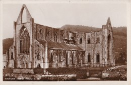 AR48 Tintern Abbey From S.W. - RPPC - Monmouthshire