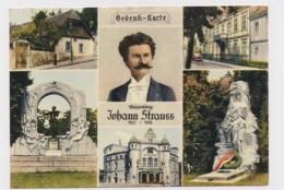 AI75 Gedenk Karte Johann Strauss Multiview - Music And Musicians