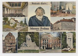 AI75 Gedenk Karte Johannes Brahms Multiview - Music And Musicians