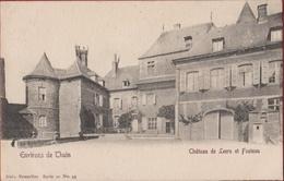 Les Environs De Thuin Hainaut Kasteel Van Château De Leers Et Fosteau (Pli) - Thuin