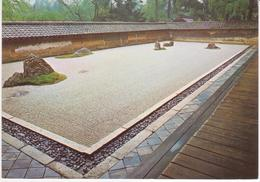 °°° 13451 - JAPAN - KYOTO - ROCK GARDEN - RYOAN JI TEMPLE - 1970 With Stamps °°° - Kyoto