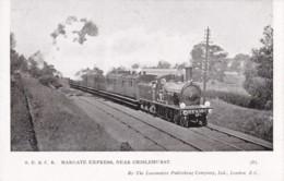 AS68 Trains - SECR Margate Express, Near Chislehurst - Trains