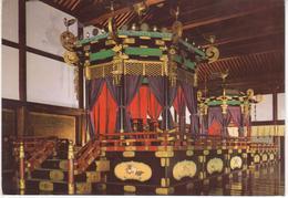 °°° 13452 - JAPAN - KYOTO IMPERIAL PALACE - TAKAMIKURA IN SHISHIN DEN. - 1970 With Stamps °°° - Kyoto