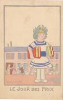 1312/ Andre Helle, Graduation Day, Il Giorno Dei Premii , 1919, Le Jour Des Prix - Autres Illustrateurs