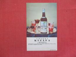Cherry Wine  Danish    Cherry Kijafa    Ref 3518 - Pubblicitari