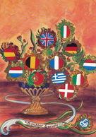 L' Europe Des 12 En 1993. Illustration Pascal Bretéché - Cartes Postales
