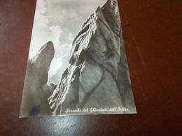 B687  Montagna Ghiacciao Dell'ortler Saracchi Viaggiata - Cartoline
