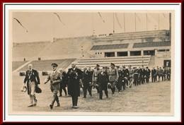 ★★ OLYMPIC GAMES BERLIN 1936 . HITLER I STADIUM ★★ HITLER. Der FÜHRER TRIFFT Zur ERÖFFNUNG Im STADION EIN ★★ - Olympische Spiele
