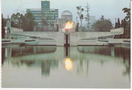 °°° 13457 - JAPAN - HIROSHIMA CITY - THE FLAME OF PEACE - 1985 With Stamps °°° - Hiroshima