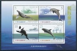 Taiwan 2002 China / Dolphins Whales MNH Delfines Ballenas / C7121   38-34 - Delfines