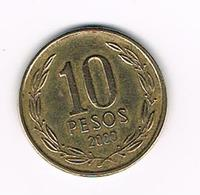// CHILI   10  PESO  2000 - Chile