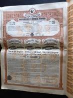 GOUVERNEMENT IMPERIAL OTTOMAN / DOUANES DE L'EMPIRE OTTOMAN 1902 - Banque & Assurance